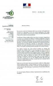 lettre académie
