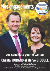 Engagements de Chantal Durand et Hervé Gicquel
