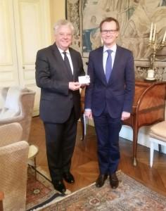 rencontre Hervé GICQUEL et le Préfet Thierry LELEU 31 mai 2016