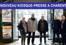 Un nouveau kiosque-presse à Charenton: Promesse tenue!