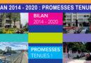 Bilan 2014-2020 : Promesses tenues !