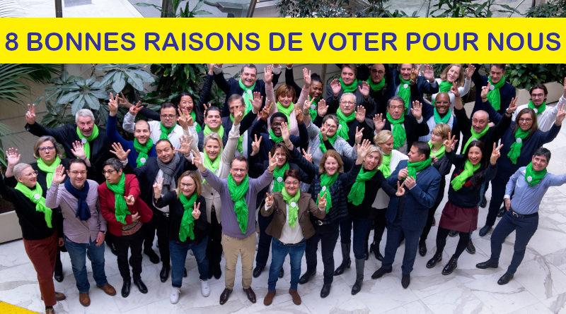 8 bonnes raisons de voter pour votre Maire Hervé Gicquel et l'équipe Charenton Demain